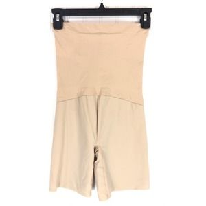 Spanx size X-Large high waisted shorts nude